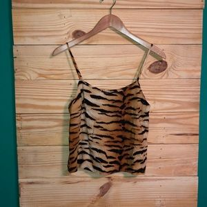 NWT Forever 21 Contemporary Tiger Print Camisole